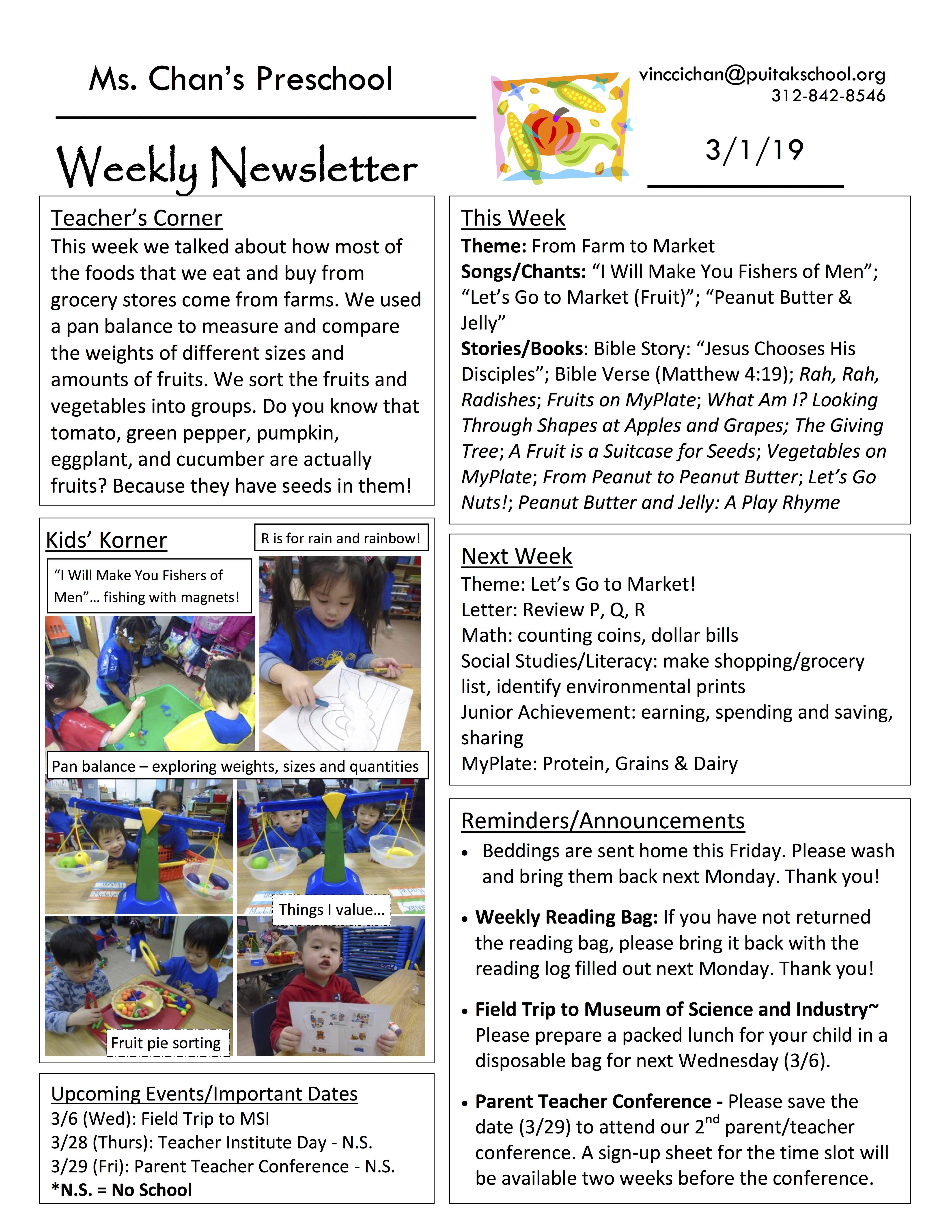 VincciNewsletter2019March1stWeek