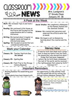 MeaganNewsletter2019January3rdWeek