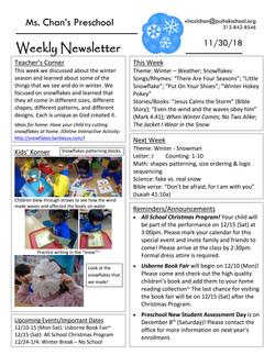 VincciNewsletter2018November5thWeek