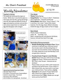 VincciNewsletter2019April2ndWeek