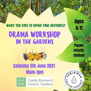 Drama Workshop at Castle Bromwich Hall Gardens