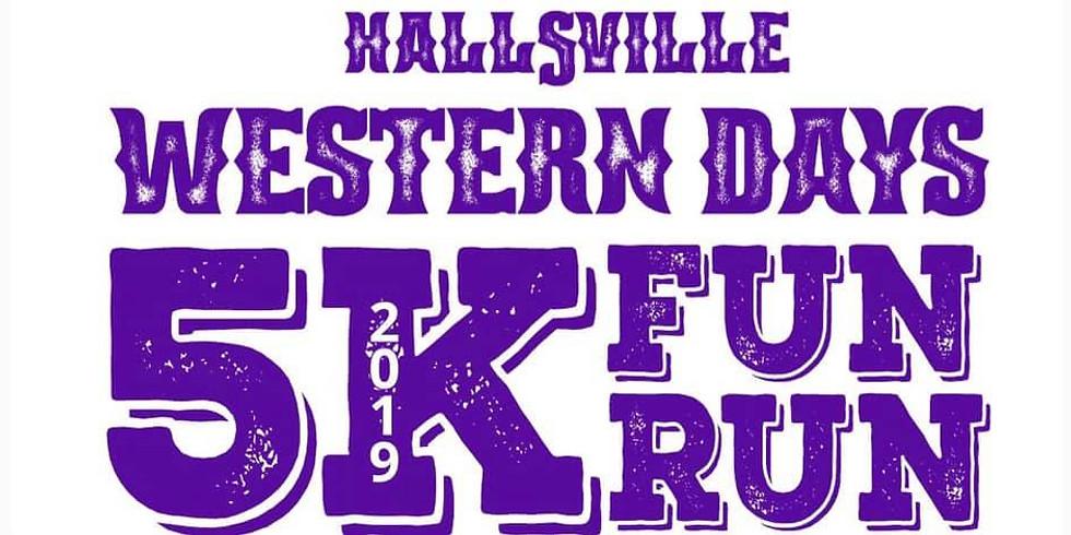 LONGVIEW   Hallsville Western Days 5K/Fun Run