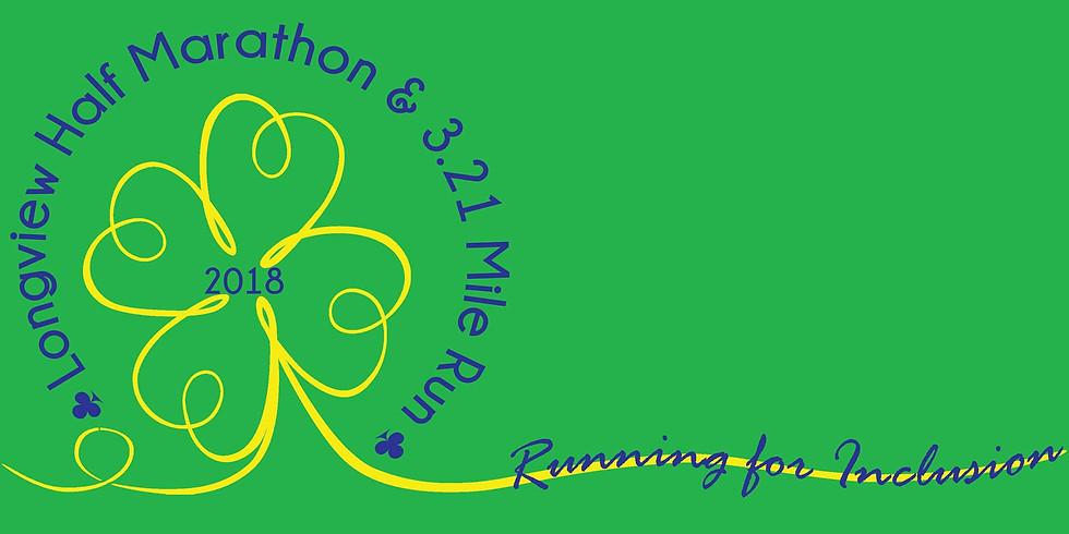 LONGVIEW   Longview Half Marathon and 3.21 Mile