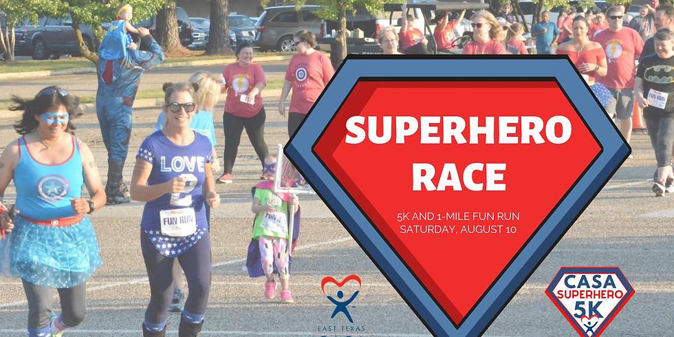 LONGVIEW | CASA Superhero 5k & 1 Mile Fun Run