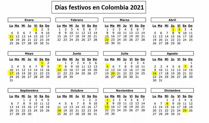 festivos colombia, festivos colombia 2021, días festivos colombia, dias festivos colombia, dias festivos colombia, festivoscolombia, festivos colombia, festivos 2021, diasfestivos colombia 2021