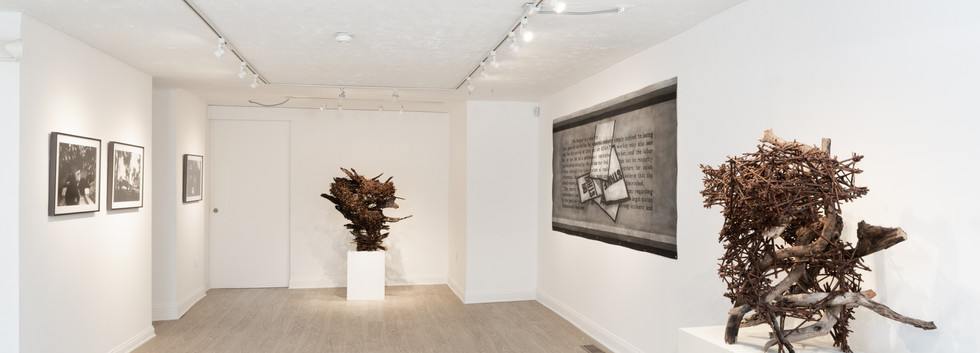 Installation shot of exhibition