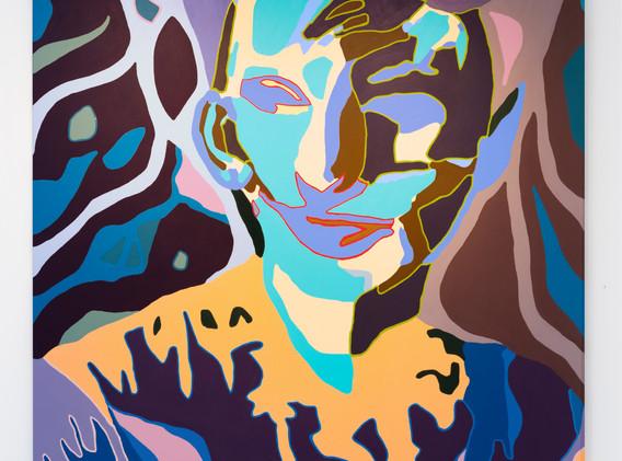 """Agnes Moorehead & Me (No. 10/Figure Portrait)"" by Damon Arhos"