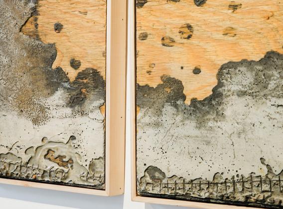 """""""Concrete Landscape IV (Water Lilies)"""" by Sera Boeno"""