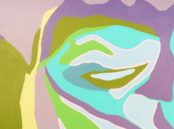 """Agnes Moorehead & Me (No. 11/Figure Portrait)"" by Damon Arhos"