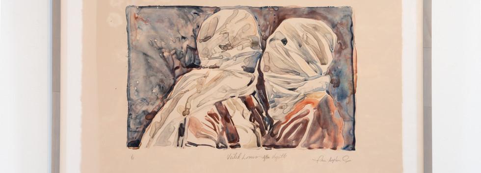"""""""Veiled Lover - After Magritte"""""""