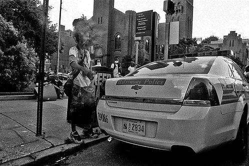 Sage Cop Car