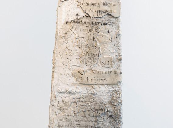"""""""Kelimeler Kıyafetsiz (:Words Naked/Are Not Enough) – Monument V"""" by Sera Boeno"""