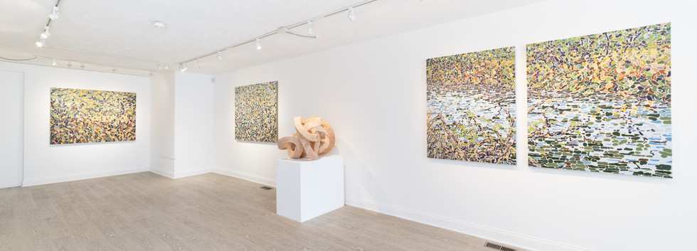 """""""Intertwined"""" exhibition shot"""