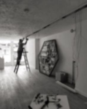 Next step_ replacing the lights. Get rea