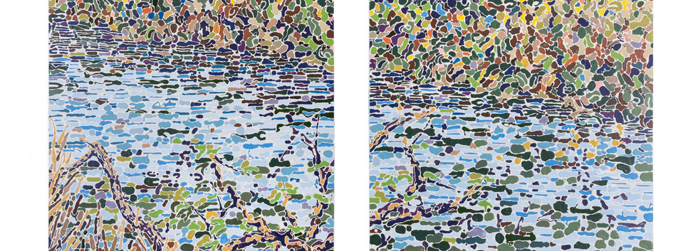 """""""River Diptych"""""""