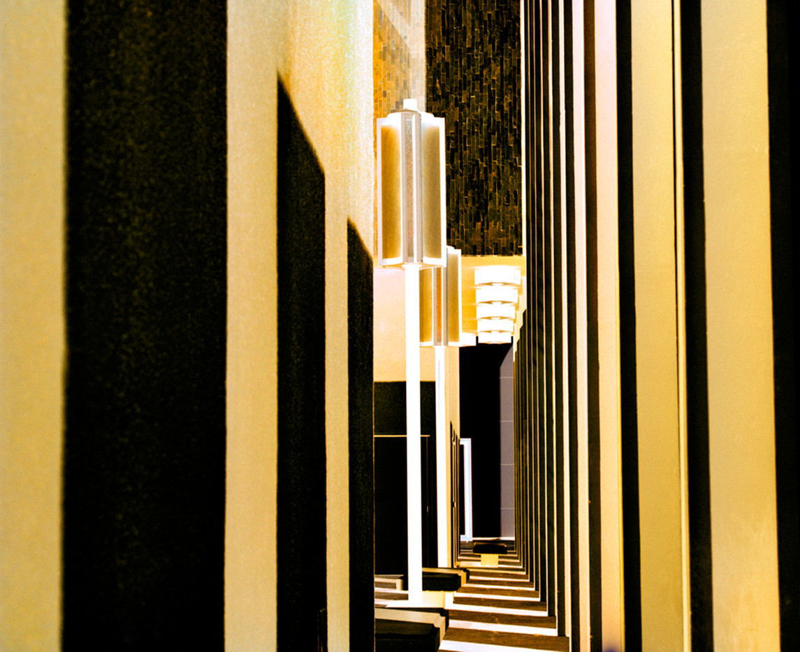 LACMA Columns Abstract Yellow
