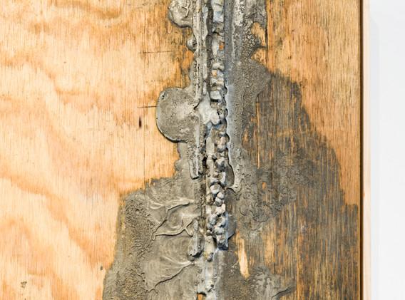 """Concrete Landscape III (Seascape Diptych)"" by Sera Boeno"