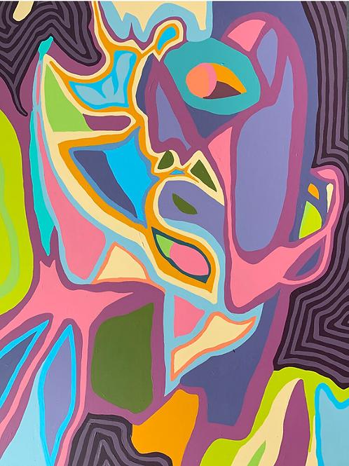 Agnes Moorehead & Me (No. 7/Figure Portrait)