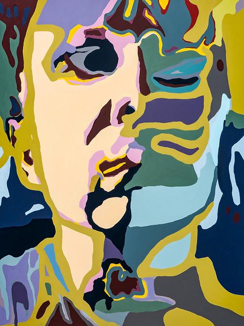 Agnes Moorehead & Me (No. 1/Figure Portrait)