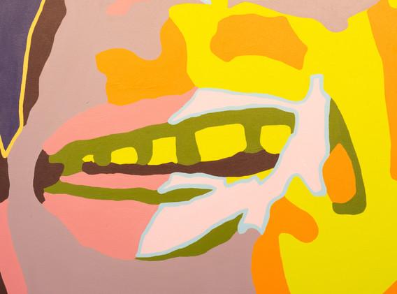 """Agnes Moorehead & Me (No. 9/Figure Portrait)"" by Damon Arhos"