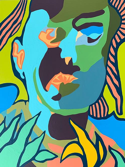 Agnes Moorehead & Me (No. 8/Figure Portrait)
