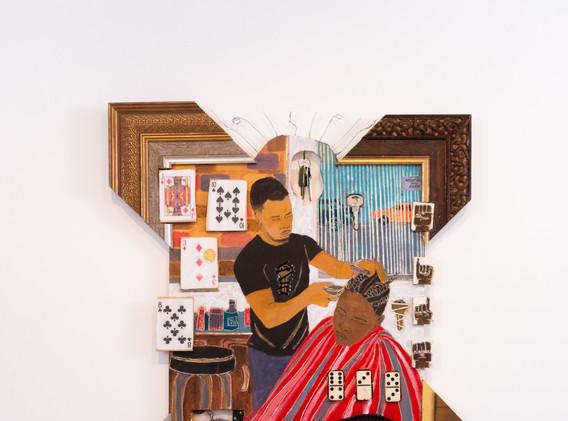 """""""Barbershop Series #34, Sides"""""""