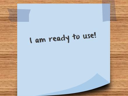 Create your custom post-it note in Power Point