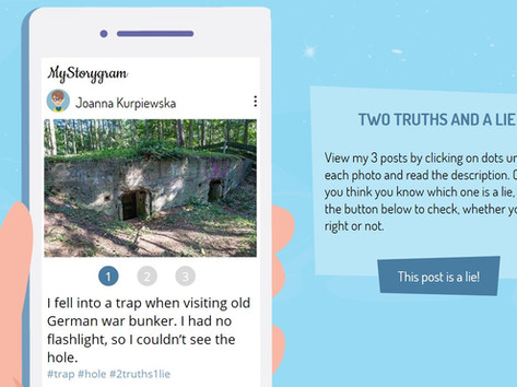 E-learning challenge #313 (2021): Two truths and a lie - icebreaker game