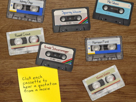 E-learning challenge #88 (2015): Interactive Audio: Using Soundboards in E-Learning Courses