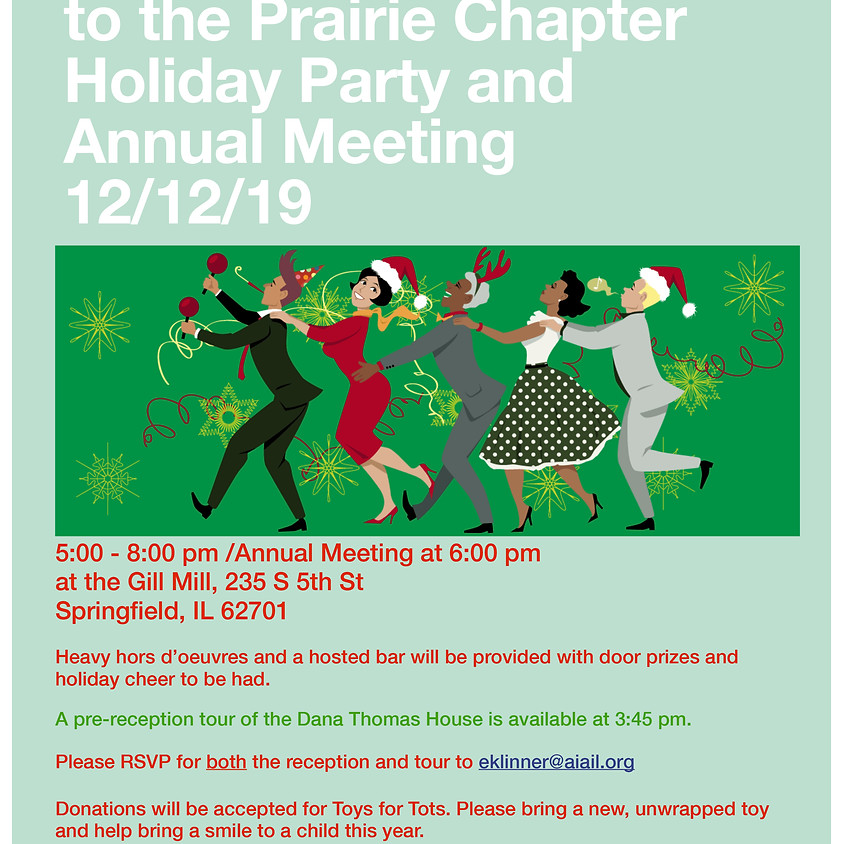 AIA Prairie Chapter Holiday Party and Annual Meeting