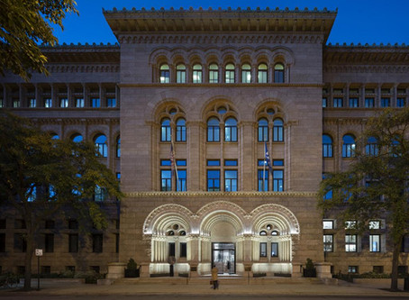 Newberry Library is awarded the 2019 CROMBIE TAYLOR AWARD for preservation and restoration
