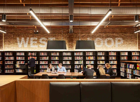 The Chicago Public Library, West Loop Branch, is awarded the 2019 Frank Lloyd Wright Award