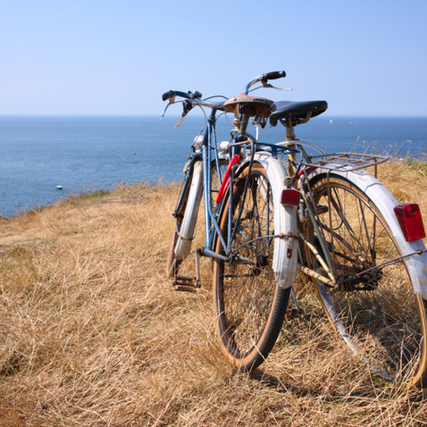 Bike Riding on trails around Georgian Bay