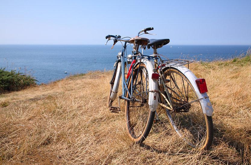 景區騎自行車