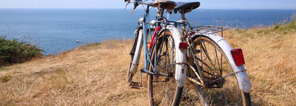 Pintoresco paseo en bicicleta