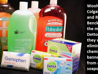 The World is Banning Anti-Bacterial Soaps - But there is an alternative