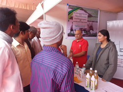 In conversation with farmers