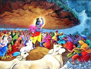 Celebrating Govardhan