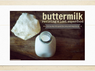 Buttermilk Revival - The Superfood For Mid-Day Meal Program