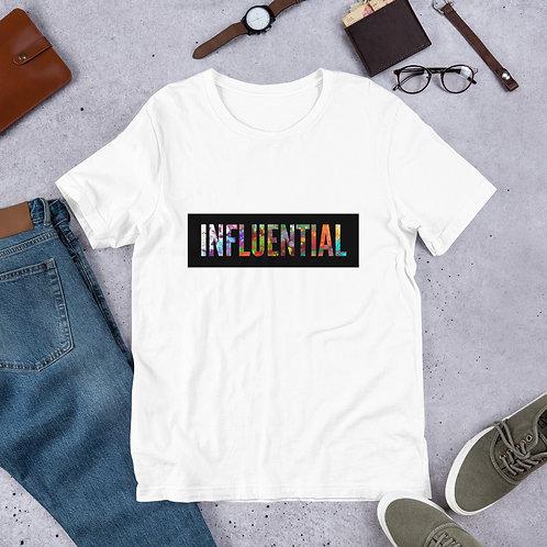 """Influential"" Short-Sleeve Unisex T-Shirt"