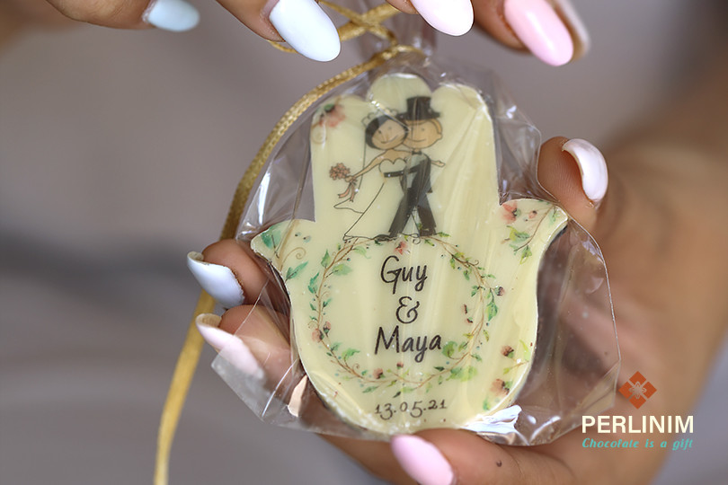 מזכרות שוקולד לחתונה