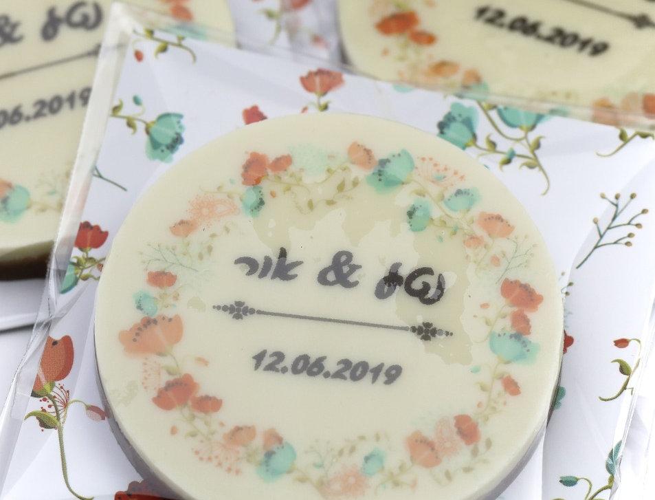 מזכרות שוקולד לאורחים בחתונה