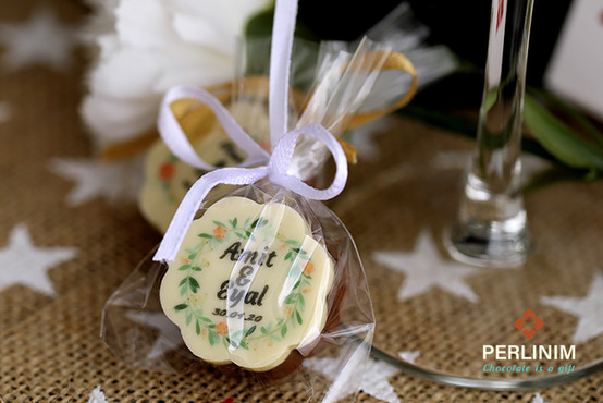 מזכרת שוקולד לאורחים בחתונה
