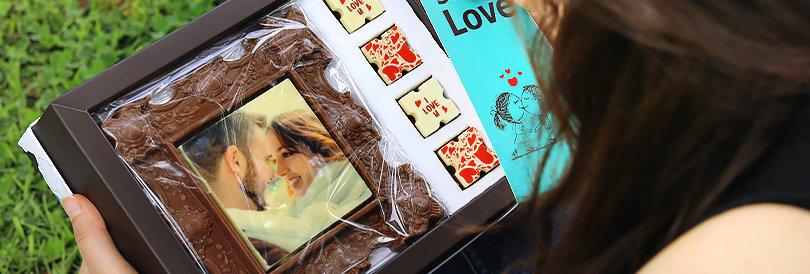 Frame eat - מסגרת תמונה משוקולד