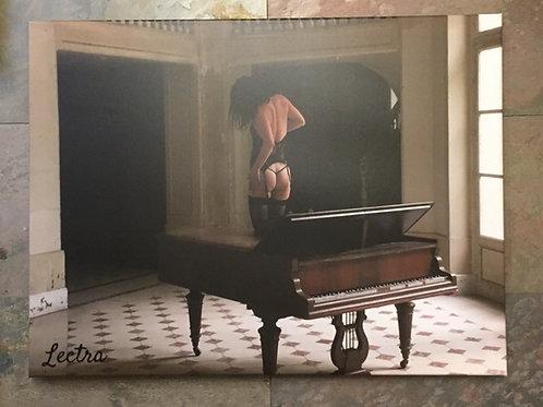 Tableau sur toile Lectra Urbex 80x60