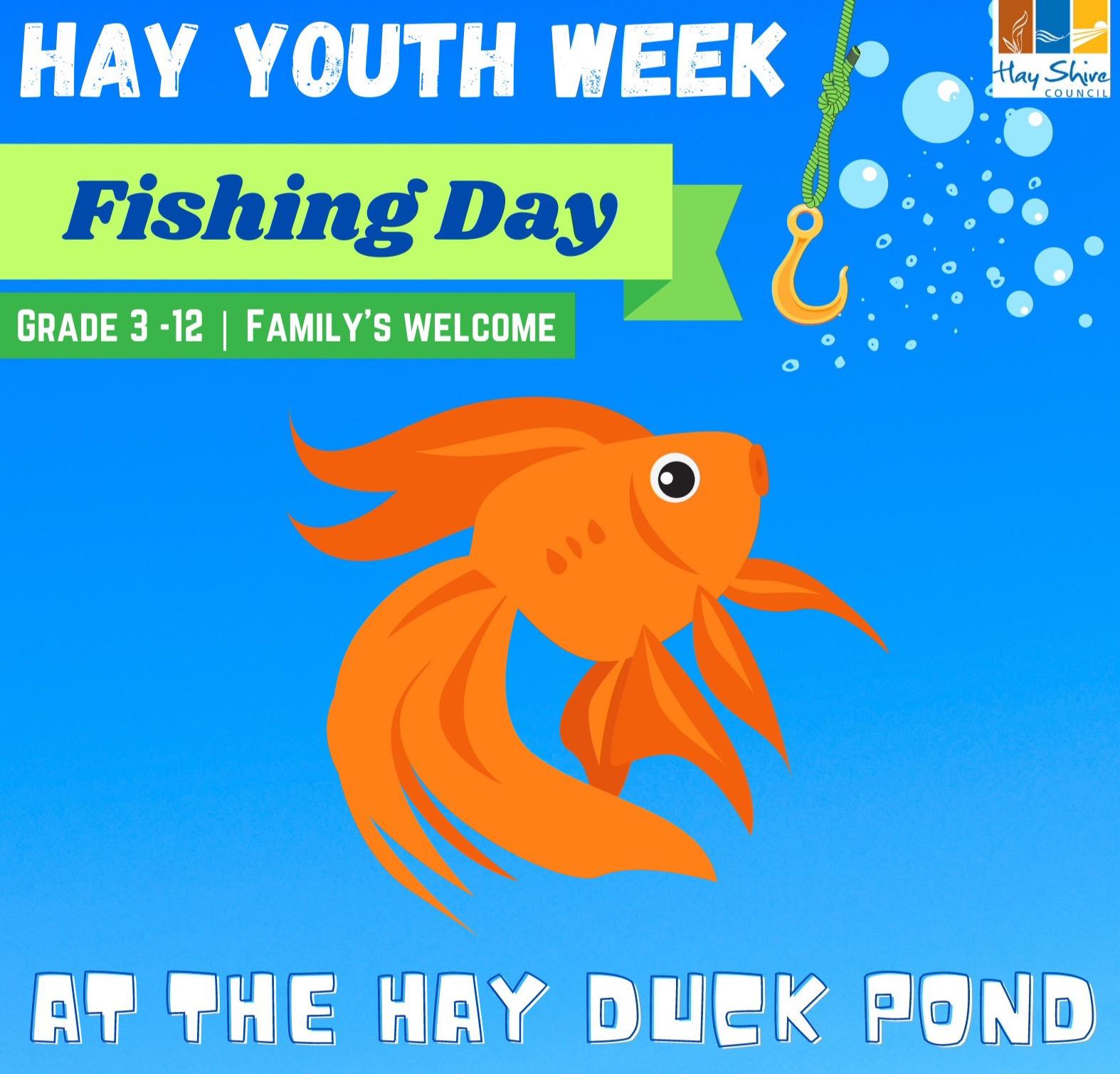 Hay Youth Week Fishing Day