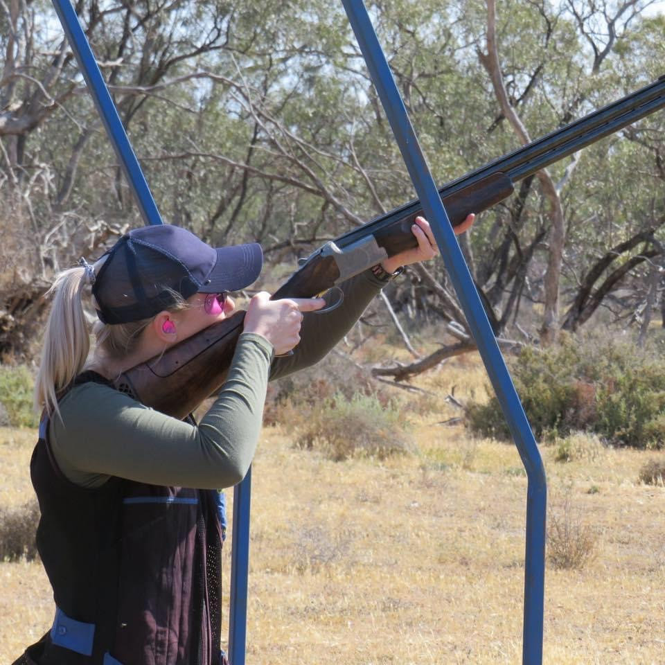 Firearms training for women on the land