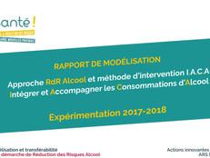 Parution du rapport de modélisation de l'approche RdR Alcool : Modèle et Méthode