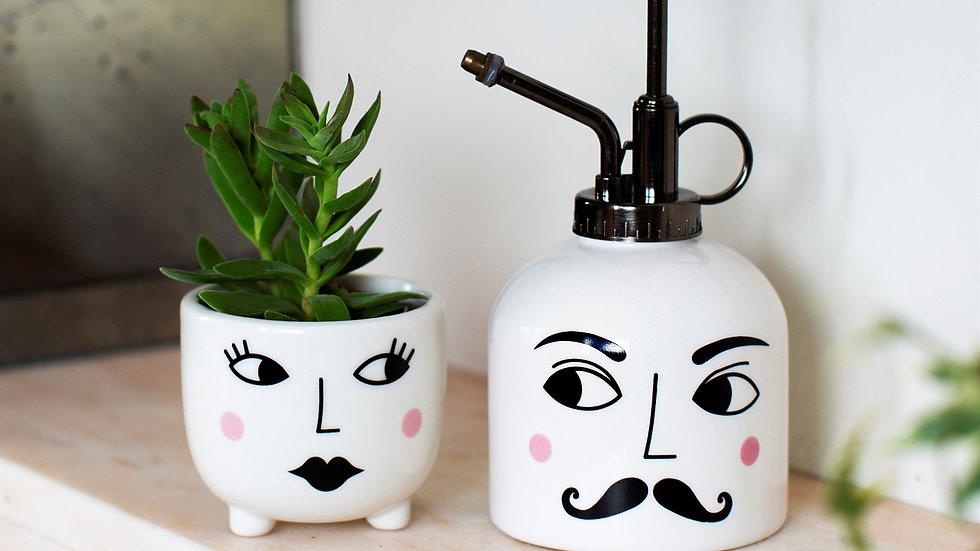 Sass & Belle Mister & Mrs Plant Set