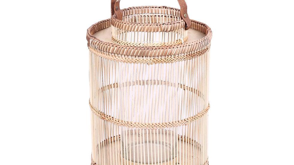 Ira Bamboo Lantern Natural Medium